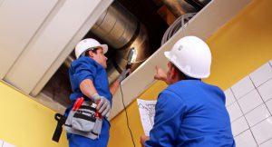 Работы по инженерно-техническому обслуживанию зданий