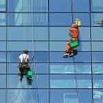 Специфика профессиональной мойки фасадов зданий