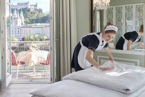 Последовательность уборки номеров в гостинице